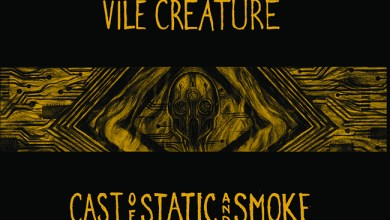 """Photo of VILE CREATURE (CAN) """"Cast of static and smoke"""" CD 2018 (Halo of flies)"""