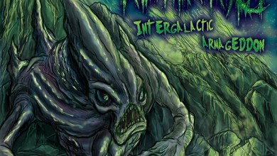 Photo of NECROEXOPHILIA (MEX) «Intergalactic Armageddon» CD 2018 (CDN Records)