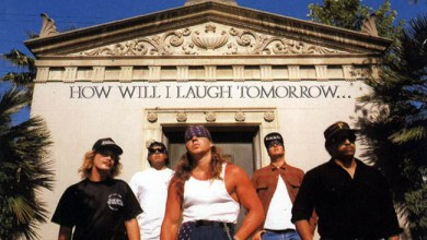 Photo of SUICIDAL TENDENCIES (USA) «How Will I Laugh Tomorrow When I Can't Even Smile Today» (Epic records, 1988)