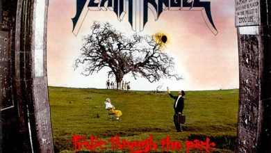 "Photo of DEATH ANGEL (USA) ""Frolic Through the Park"" (Enigma, 1988)"