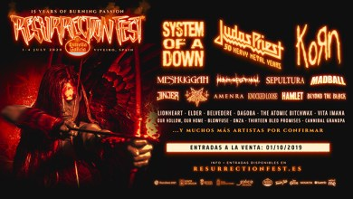 Photo of JUDAS PRIEST y KORN se unen como cabezas de cartel del RESURRECTION FEST ESTRELLA GALICIA 2020 junto a muchas bandas mas.