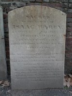 Headstone of Isaac Harby