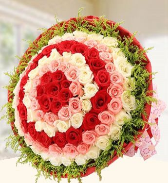 love ring bouquet