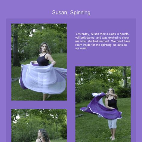 Tabblo: Susan, Spinning