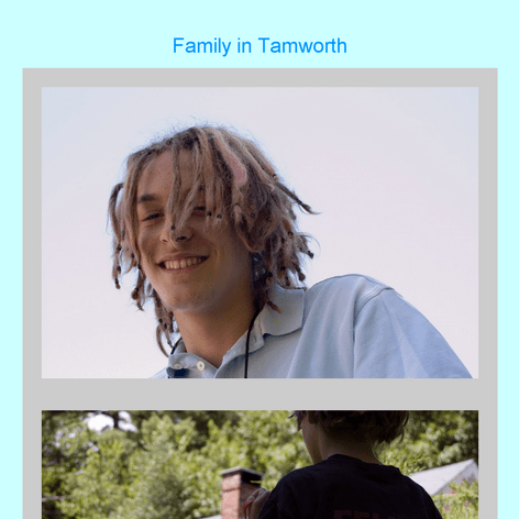 Tabblo: Family in Tamworth