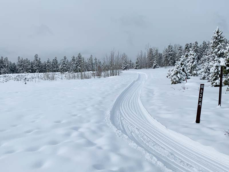 Winter Trail Packing Report