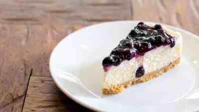 gezonde cheesecake