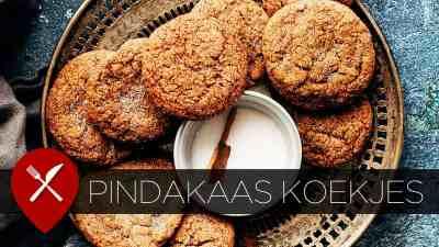 makkelijke pindakaas koekjes