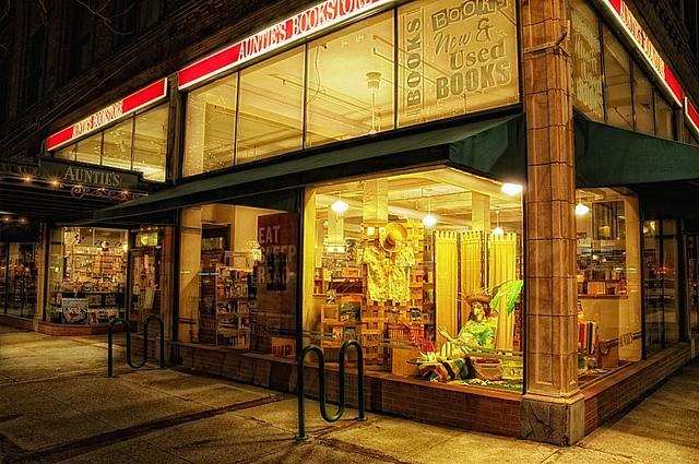 Bookstores: Auntie's Books