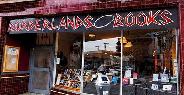 Bookstores: Borderlands in San Francisco