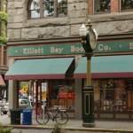 Elliott Bay old location in Pioneer Square