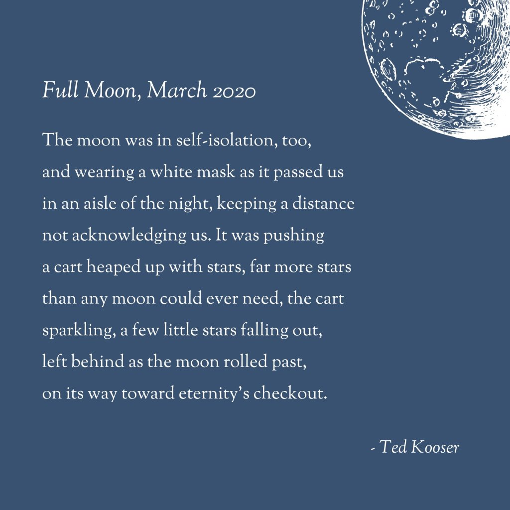 Poem Full Moon March 2020 Ned Hayes Most moon poems ever written. poem full moon march 2020 ned hayes