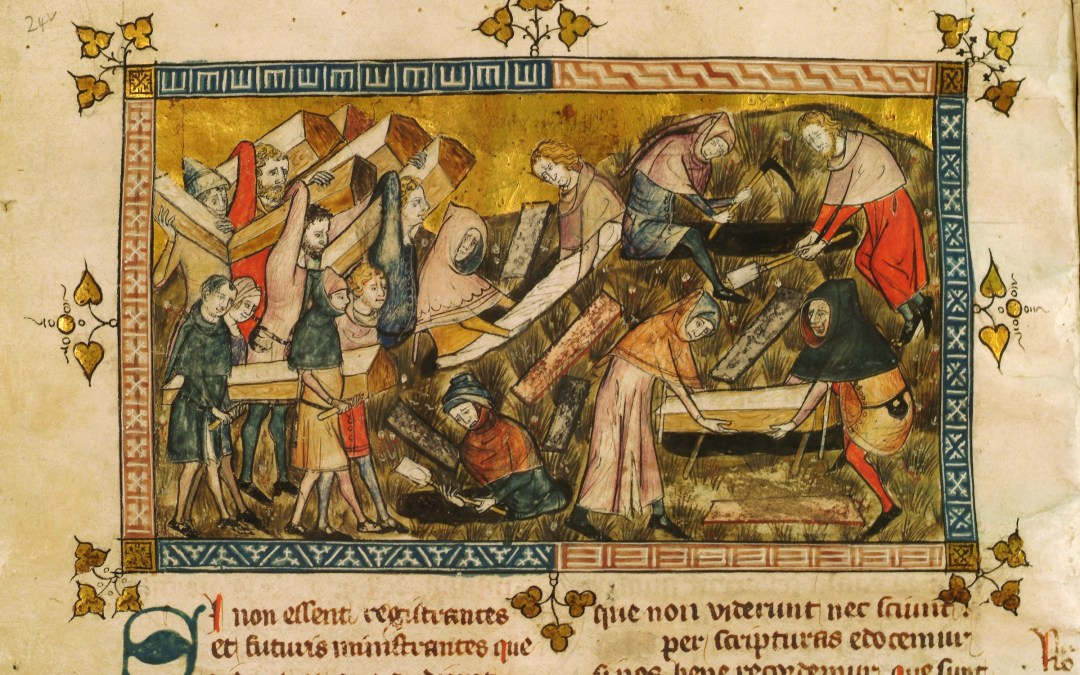 Poem: A Litany in Time of Plague