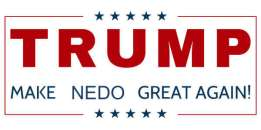 Nedo did not support Trump, but Trump did.