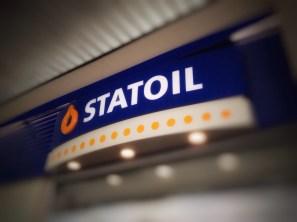 Statoil på Os, utenfor Bergen. Bloggers foto.