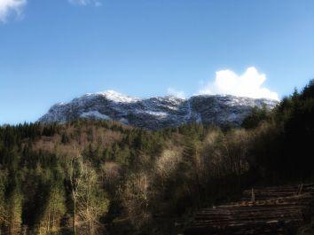 Mount Hovlandsnuten.