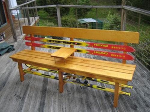 ski-bench
