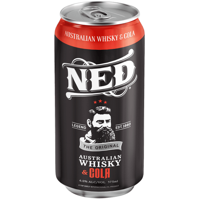 NED Australian Whisky and Cola 6% 375ml