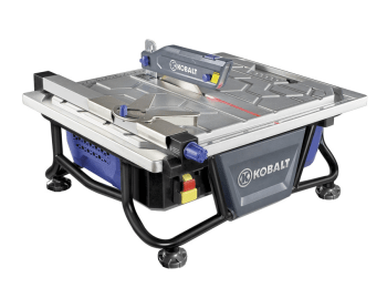 kb7004 7 wet tile saw manual need an