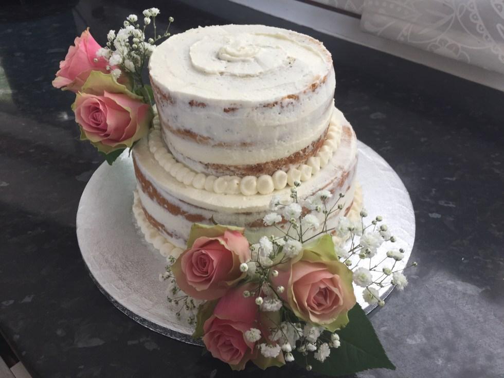 NeedCake Wedding Cake Allergy Friendly Vegan