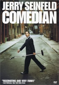 Jerry Seinfeld Comedian DVD cover art
