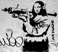 Banksy: Mona Lisa