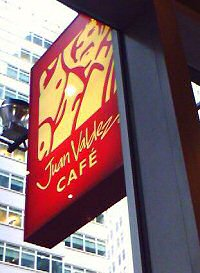 Juan Valdez Cafe in New York City
