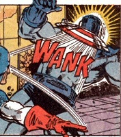 Captain America delivers the WANK