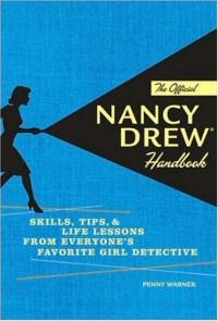 The Official Nancy Drew Handbook book cover art