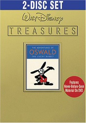 Walt Disney Treasures: The Adventures of Oswald the Lucky Rabbit DVD cover art
