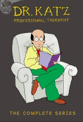 Dr. Katz Professional Therapist: The Complete Series DVD cover art