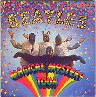 Beatles: Magical Mystery Tour album cover art