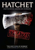 Hatchet Unrated DVD cover art