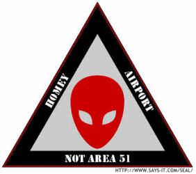 Homey Airport Not Area 51