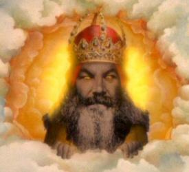 God from Monty Python Holy Grail