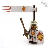 King Arthur Lego Minifig by Armothe