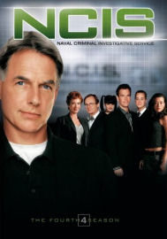 NCIS Complete Fourth Season DVD box cover art