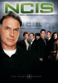 NCIS Complete Fourth Season DVD box cover art