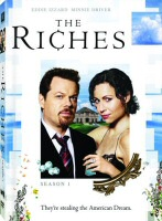 The Riches: Season 1 DVD cover art