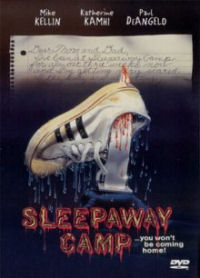 Sleepaway Camp DVD cover art