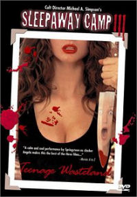 Sleepaway Camp 3 DVD cover art