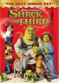 Shrek the Third DVD cover art