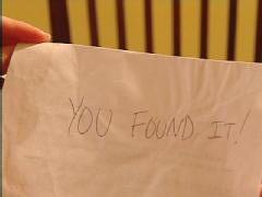 """You found it!"""