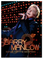 Barry Manilow Songs from the Seventies DVD Cover Art
