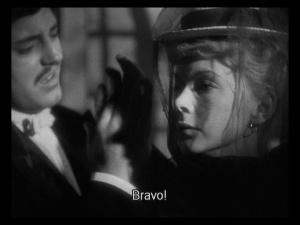 Anita Björk as Julie and Ulf Palme as Jean in Miss Julie (1951)
