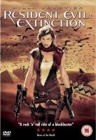 Resident Evil: Extinction Region 2 DVD cover art