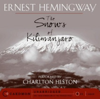 The Snows of Kilimanjaro by Ernest Hemingway Audiobook Cover Art
