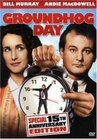 Groundhog Day 15th Anniversary Edition DVD Cover Art