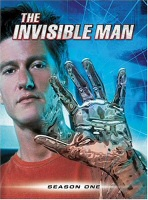 The Invisible Man Season One DVD Cover Art
