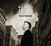 Billy Bragg: Mr. Love & Justice CD cover art